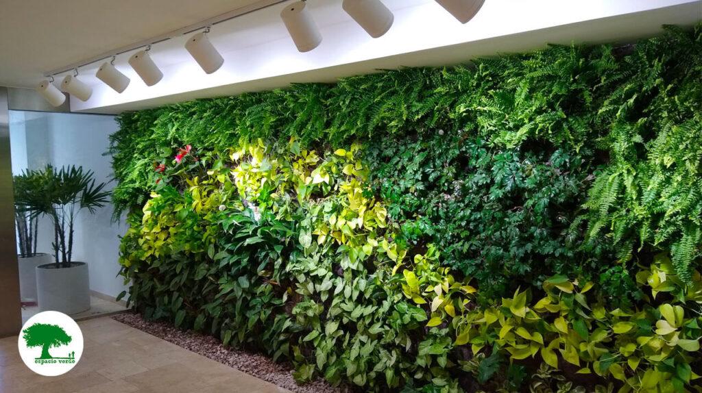 El ascenso de los jardines verticales - Espacio Verde